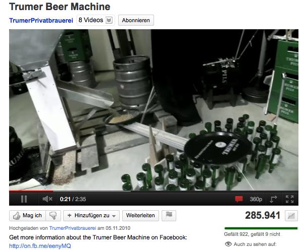 Trumer Beer Machine