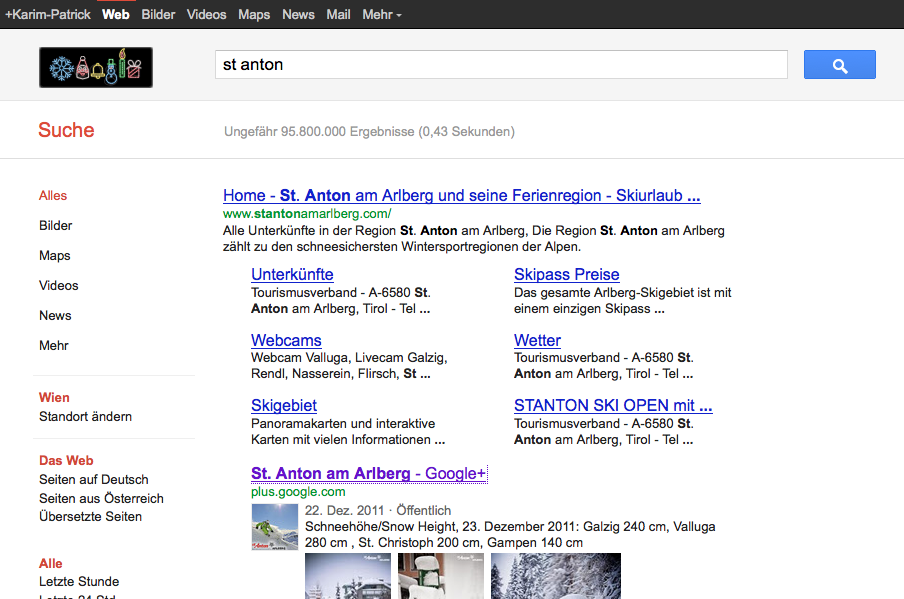 St. Anton Google Plus