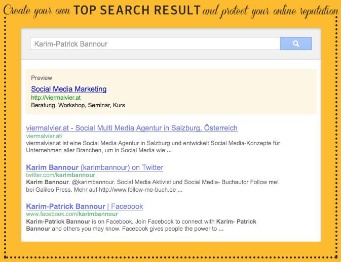 Norton Top Search Online Reputation Management