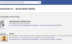 Facebook-Seiten Anwendungen deinstallieren