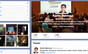 Twitter neues Design Kopfzeile Titelbild