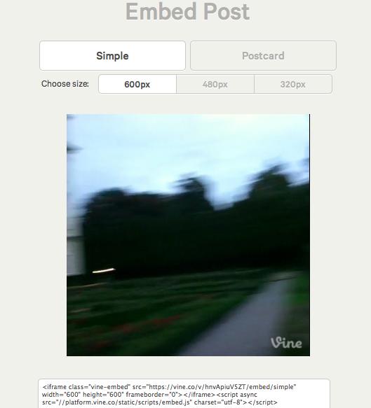 embedvideocode