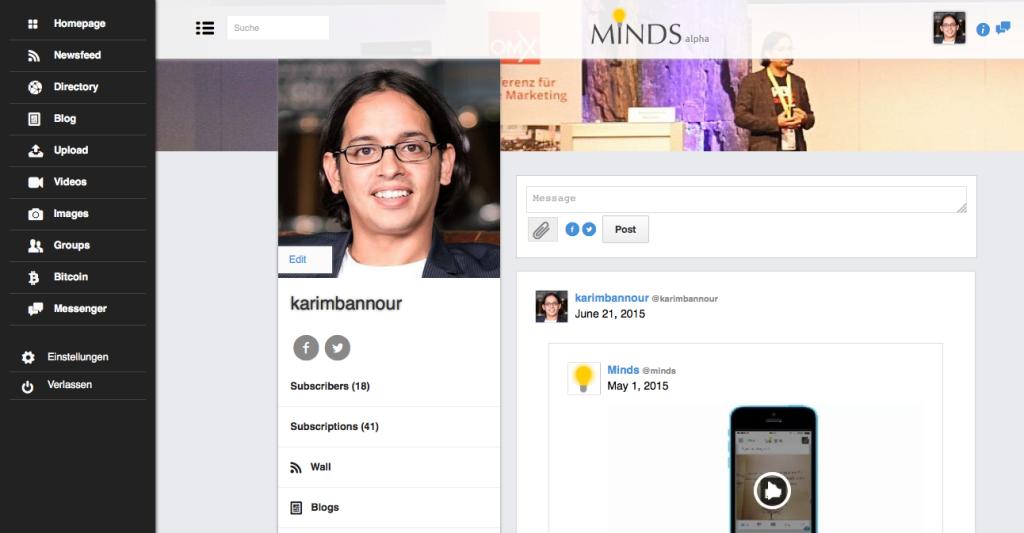 Soziales Netzwerk MINDS